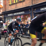 First lap in York